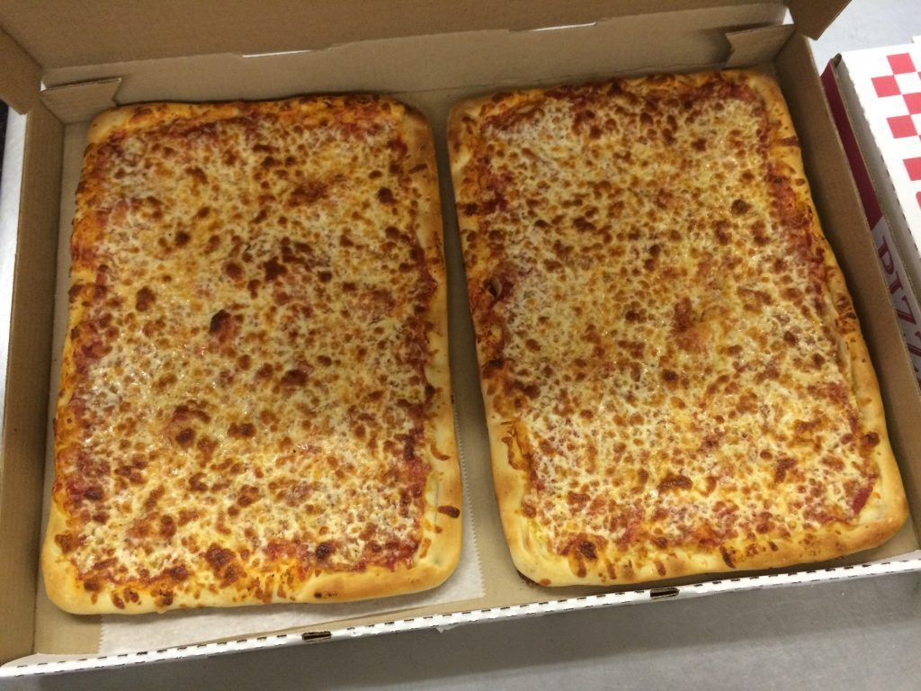 24 Cut Cheese Pizza
